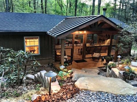 Уютная аппалачская каюта - Suches - Woody Gap