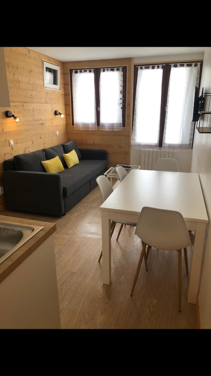 Appartement cosy pour 4 à 6 personnes