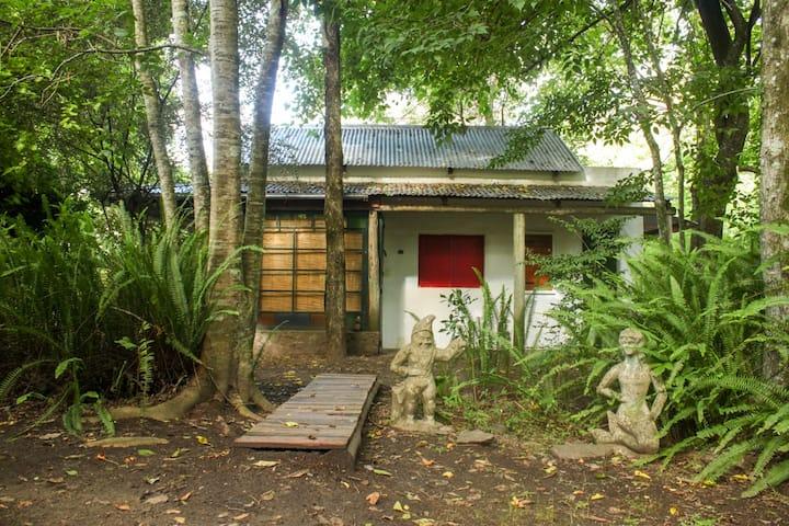 Hermosa cabaña para disfrutar del bosque y el río