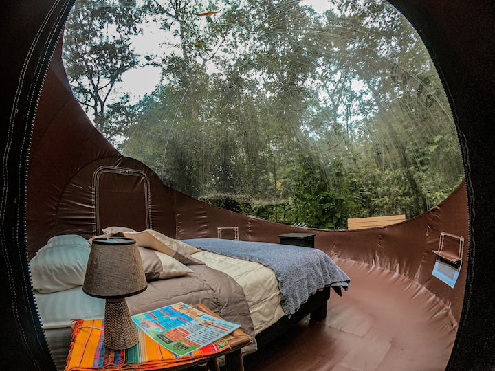 """""""Mindo River Glamping"""" Bubble Glamping"""
