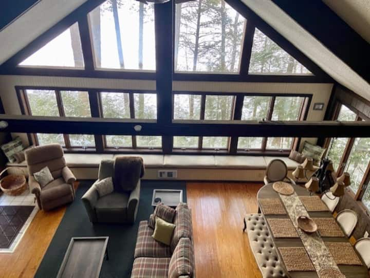 Private Lake Front House-20 min Lake George & Gore