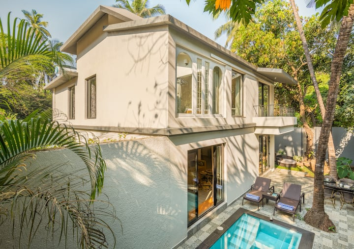 TBK beach villa |Private pool & jacuzzi | genset