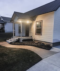 Well lit walk way from drive way. Wheel chair accessible ramp will be on site. Door way is wide enough for wheel chair.