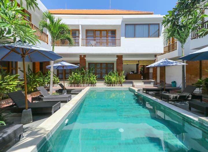 Suite Pool View at Sahadewa Suites Residence