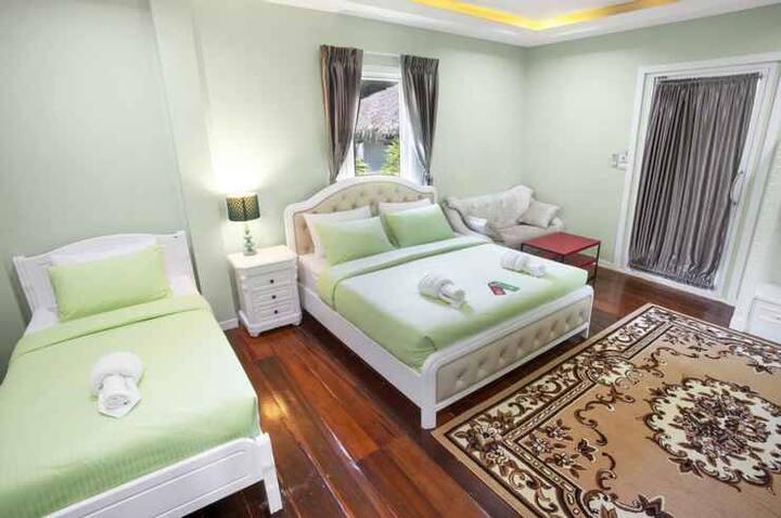 Cozy Family with Balcony @ Aquna Hua Hin Resort