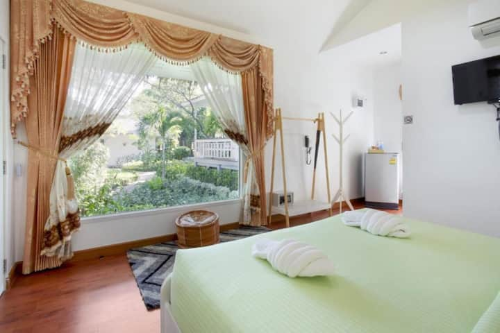 Superb King Room Spa Bath @ Aquna Hua Hin Resort