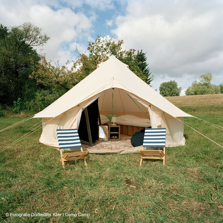 DOMO CAMP SYLT - ASGARD Glamping tent for 2P