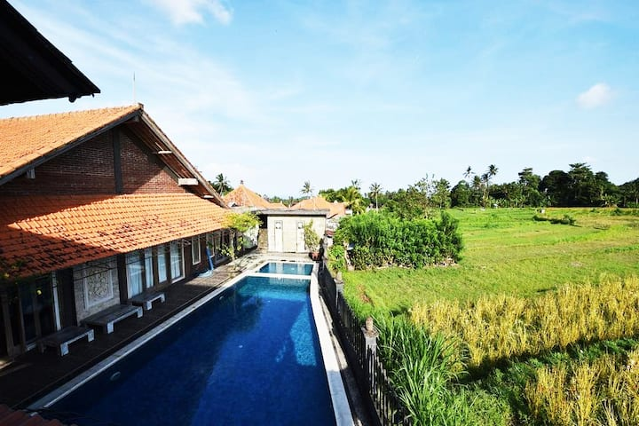 On Budget homestay with Balinese style.