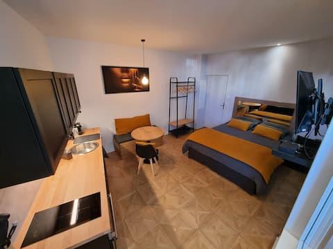 Biarritz center / studio / beach and halls 5minute