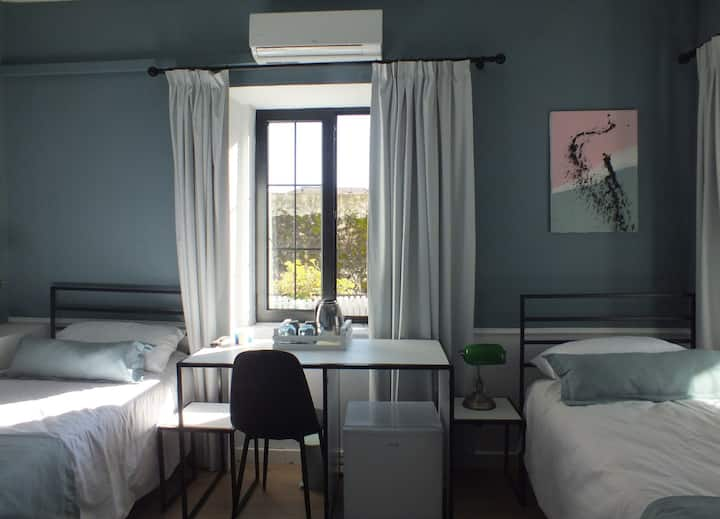 Twin Room at Atelier Boutique Hotel