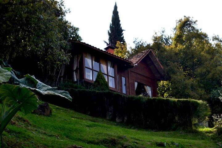 """Zirahuén Forest & Resort """"Cabaña Romance"""""""