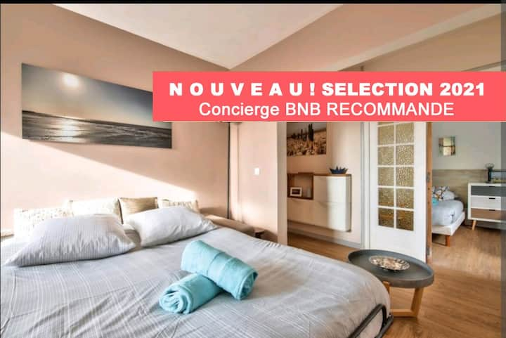 BD Residence BNB Confort-Near the sea - Bénerville