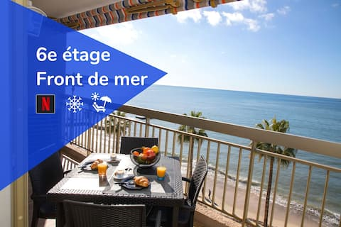 Panoramaudsigt over havet: Aircondition ★ Balkon ★ Strande