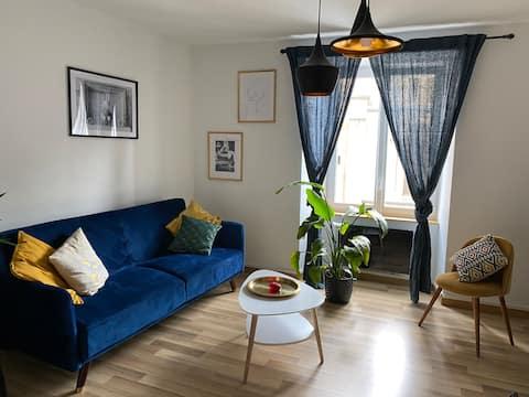 ⭐️ Nuevo ⭐️ Centro de la ciudad, acogedor apartamento 🦋
