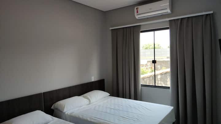 quarto hospedado por Odivan conforto e preço justo