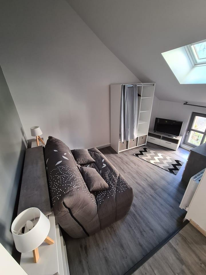 Loches joli studio idéal pour courts séjours!