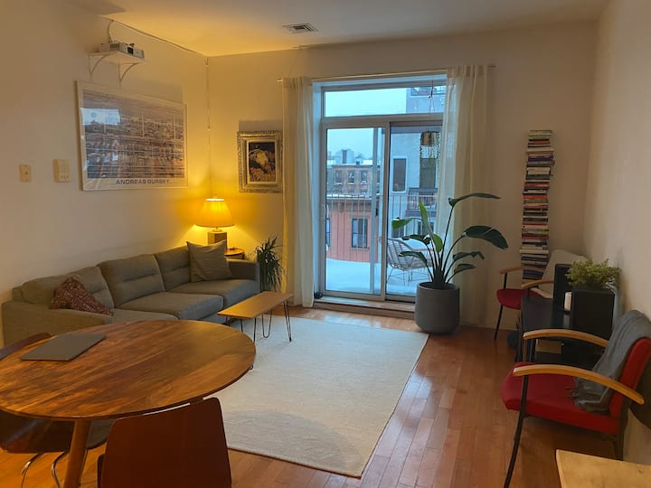 Comfy Bed-Stuy APT w/ Private Terrace
