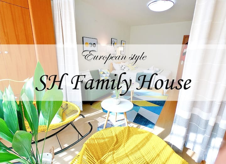 【Family house】 Shanghai Normal, lines 1, 3, 9, 15
