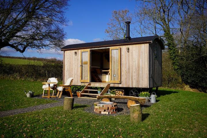 Elder - Little Ash Luxury Shepherd's Hut