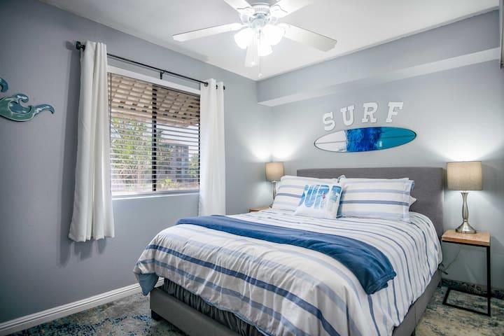 Updated Second bedroom