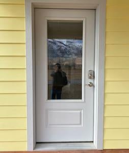 36-inch wide door