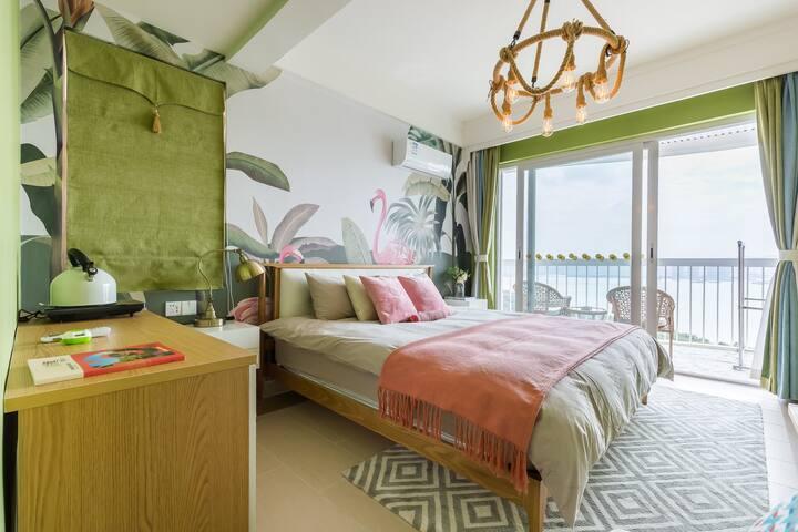 【游牧虎】三亚湾两房都能看到海景