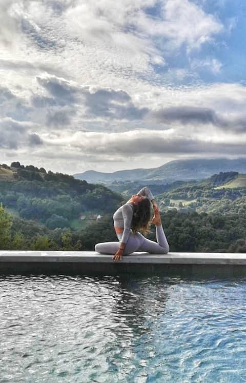 Venez vous ressourcer au coeur de la nature basque