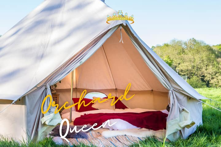 Glamping at Wyldland, Kent - Orchard Queen