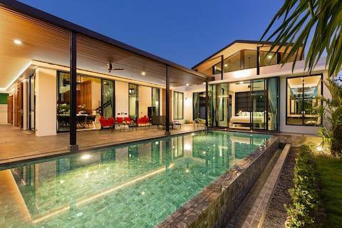 Sunset Villa, 5 lits de luxe, Baan Bua Nai Harn