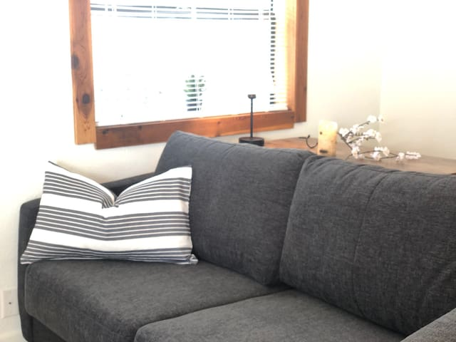 Sofa - pulls out to a queen sofa bed