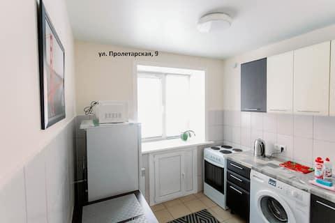 "ул.Пролетарская,9 (квартира возле ""парка Ангелов"")"