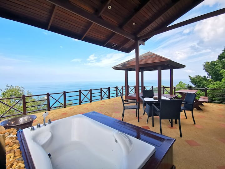 Ocean View One Bedroom Home with Jacuzzi Ko Samui