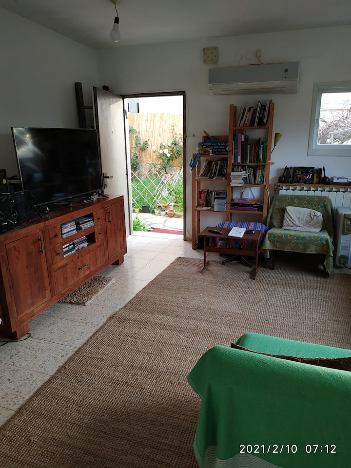 kfar vradim close to nature vegan friendly  flat