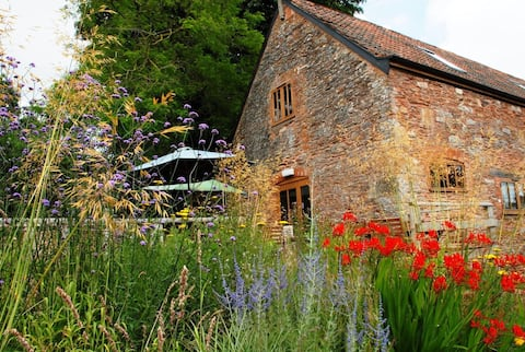 New barn conversion on the Quantock Hills Somerset