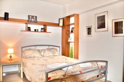 Omnia City Center Studio with private parking