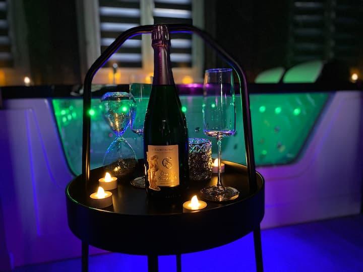 Le Contraste Nuit Romantique SPA & champagne