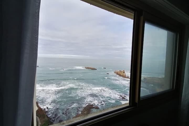 Studio avec vue imprenable sur l'océan !