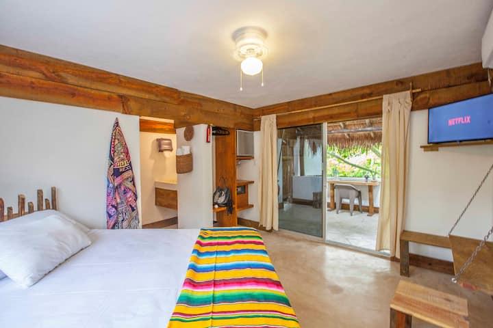 Beautiful Jungle Studio In Downtown Tulum 204