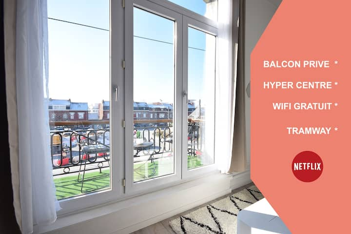 ★ APPART CHIC ★ HYPERCENTRE ★ TRAMWAY ★ WIFI ★