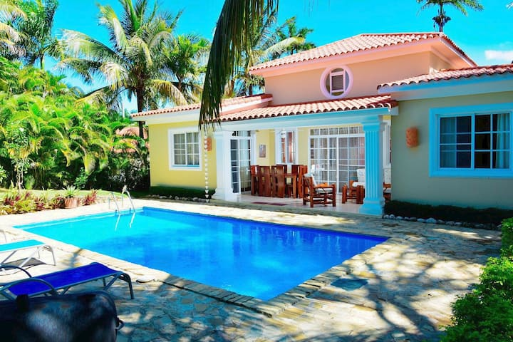 Lovely 3 Bdrs Villa with private Pool in Sosua