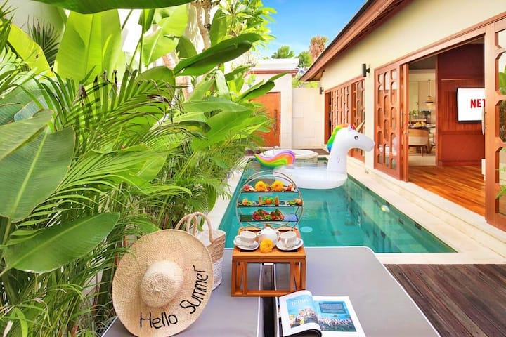 1BR Villa W/Private Pool Only Minutes from Ubud!