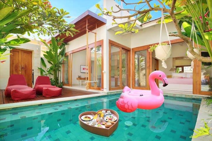 VILLA MURAH! 1BR Private Villa W/Pool Near GWK