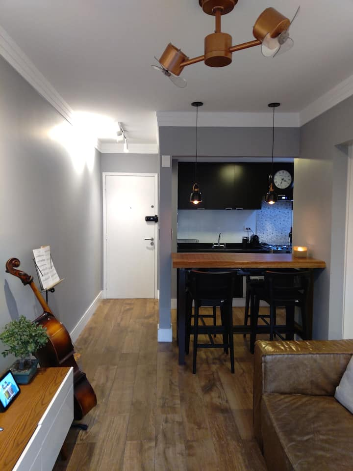 Wonderful flat in the heart of Itaim Bibi