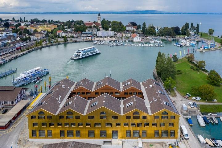 Ferienwohnung im Kornhaus Romanshorn direkt am See