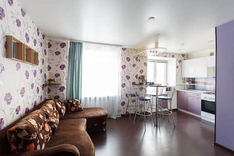 Апартаменты Живи Уютно и работай