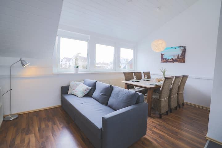 Große gemütliche Wohnung im Gästehaus Benedikt