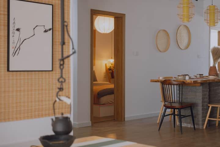 「白山茶」百寸投影|超大客厅|龙门石窟10分钟|洛龙区|四居|干净舒适