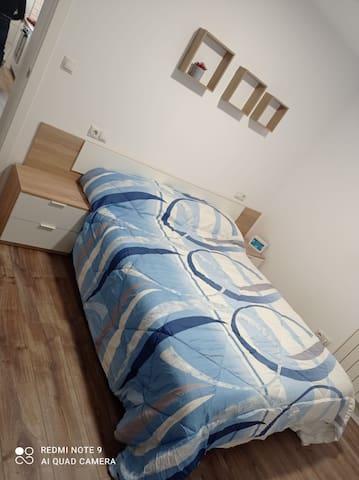 Habitación doble con cama de 1,50