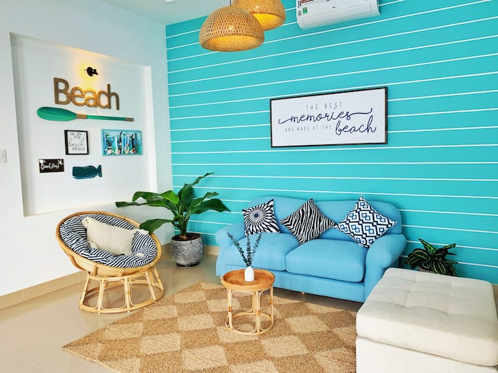 Insta-worthy, Contemporary Beachhouse villa