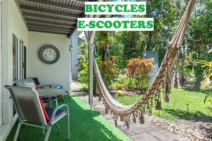 ❤Reeforest ⭐2 pools⭐ spa⭐ hammock⭐scooters⭐WiFi⭐
